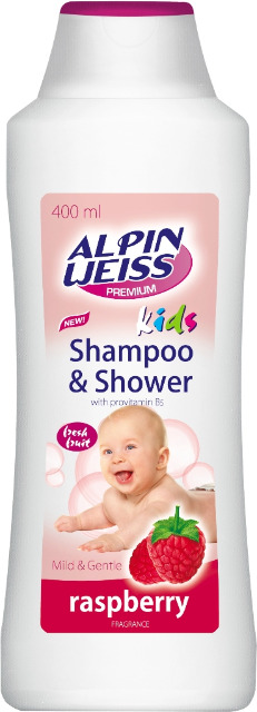 Kindershampoo & Duschgel - Raspberry 400ml