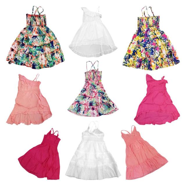 Kinder Mädchen Tops Trägershirts Kleider
