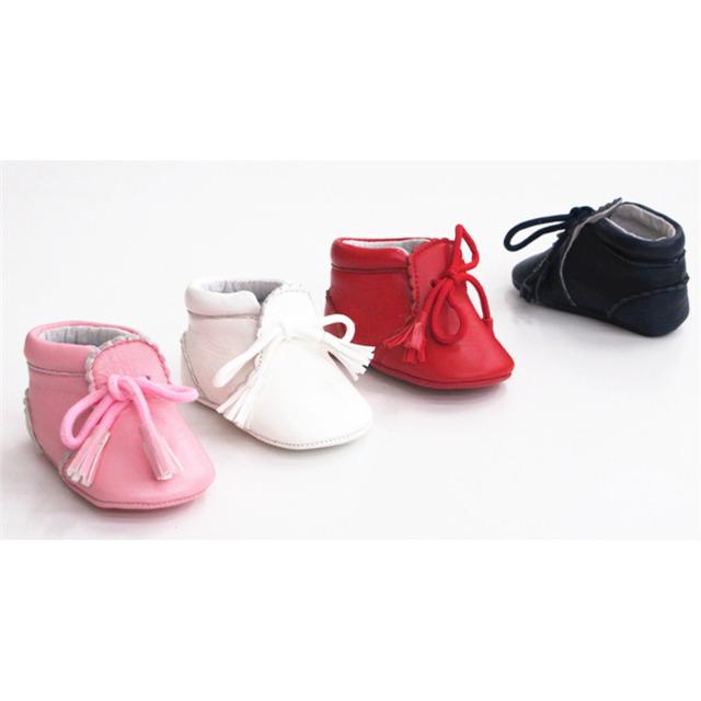 Leder Mädchen Ballerina Slipper Schuhe