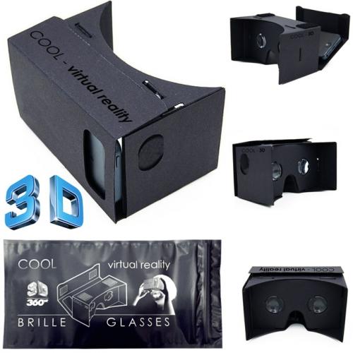 "Unterhaltungselektronik Großhandel: 3D Virtual Reality Brille ""Cool 3D"" f�r Smartphone"