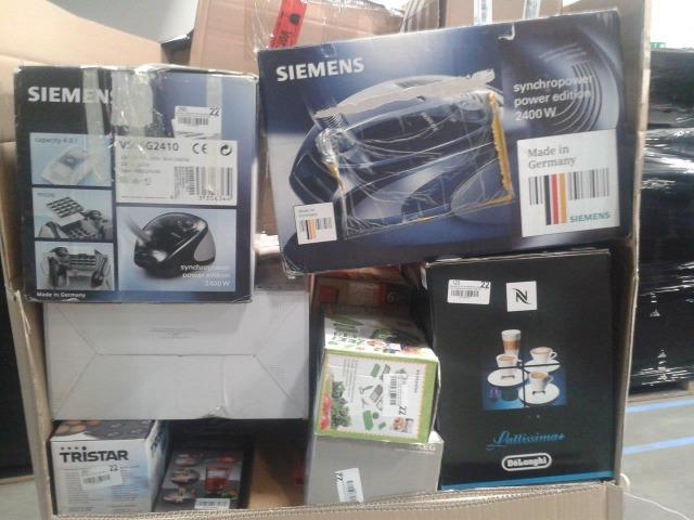 Haushaltstechnik Markenprodukte (Kaffeemaschinen, Küchenmaschinen, Mikrowellen, Staubsauger, Elektrowerkzeug usw.)- Mischpaletten