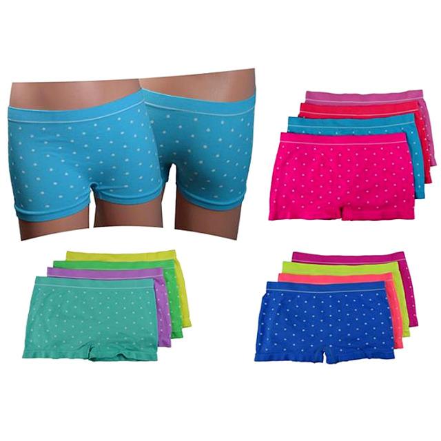 Mädchen Seamless Boxer Shorts Slips Mix Gr. 10-12 für 1,05 EUR