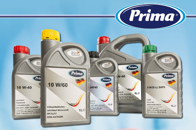 Prima PKW - Motoröle 1000 ml  - MADE IN GERMANY-