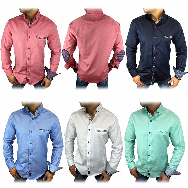 Herren Freizeit Business Hemden Gr. S-3XL je 10,50 EUR