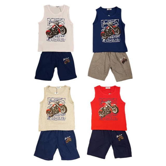 Kinder Jungen Sport Freizeit Shirt Hosen Sets