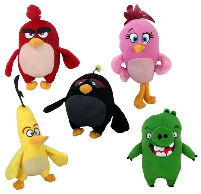 27-27570, Plüsch Angry Birds Movie 30 cm