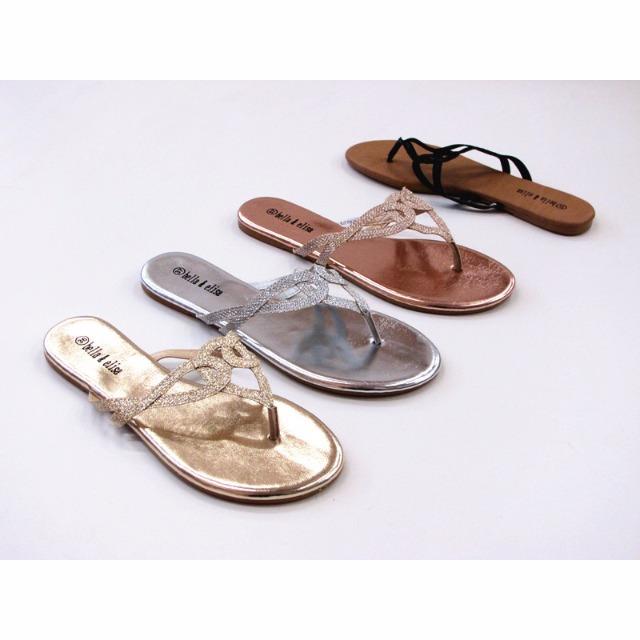 damen sommer sandalen slipper schuhe 14922395. Black Bedroom Furniture Sets. Home Design Ideas