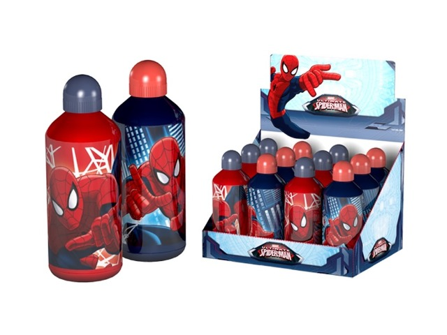 Aluminium Trinkflasche 500ml Marvel Spiderman