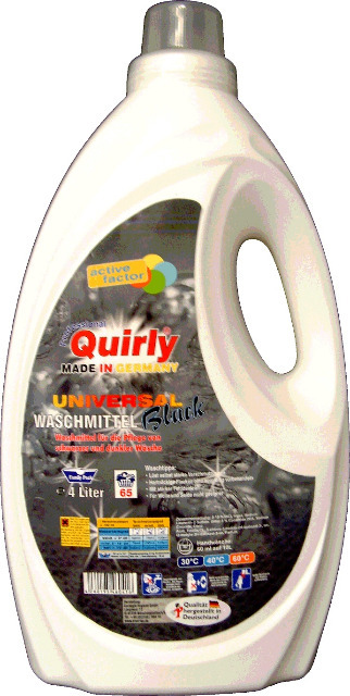 Quirly Blackwaschmittel 4,0 ltr. - MADE IN GERMANY -