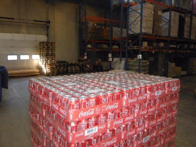 Coca Cola Zero 330ml ohne Pfand für Export