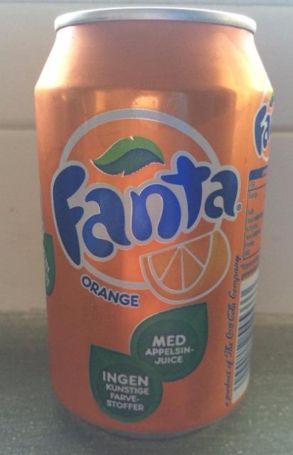 Fanta Orange 330ml ohne Pfand für Export