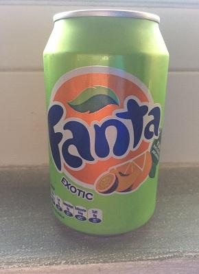 Fanta Exotic 330ml ohne Pfand für Export