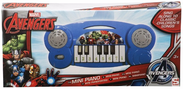 Mini Piano Marvel Avengers