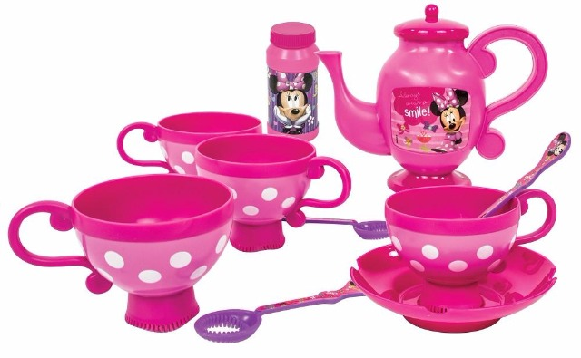 Seifenblasen-Teeservice Set Disney Minnie