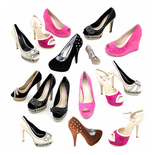 Damen Pumps Schuhe Mix Gr. 36-41 je 3,99 EUR