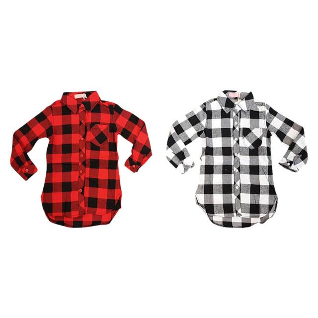 Kinder Hemden Langarm Oberteile Muster