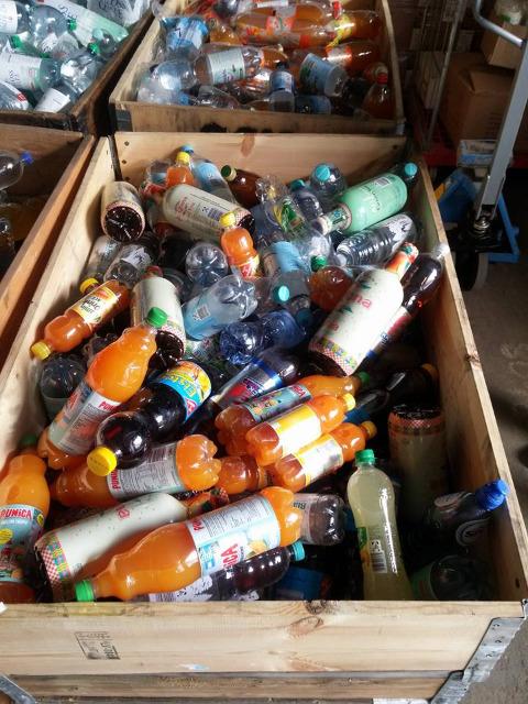 12-10120, Getränkepaletten viele Markenprodukte dabei - TOP AKTIONSPOSTEN