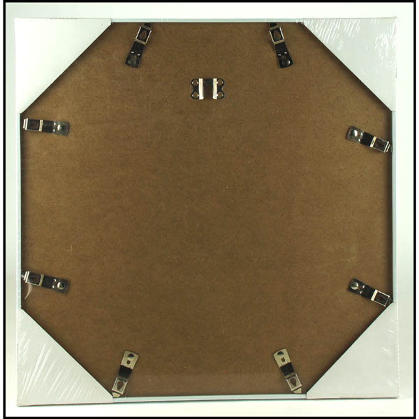 28 083510 bilderrahmen 40x40 cm wei mit passepartout. Black Bedroom Furniture Sets. Home Design Ideas