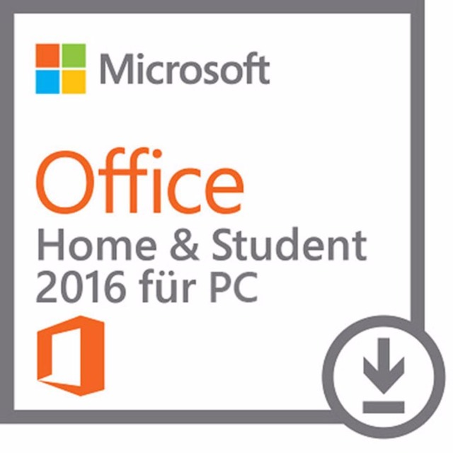 Microsoft Office 2016 Home and Student Vollversion - FPP