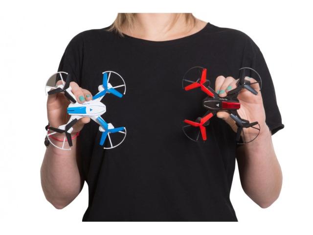 GoClever Drohnenset mit 2 Drohnen und Fernbedienungen Drohne Kampfdrohnen