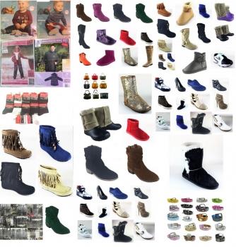 20000 Artikel, Schuhe, Bekleidung, Lederwaren und Accessoires
