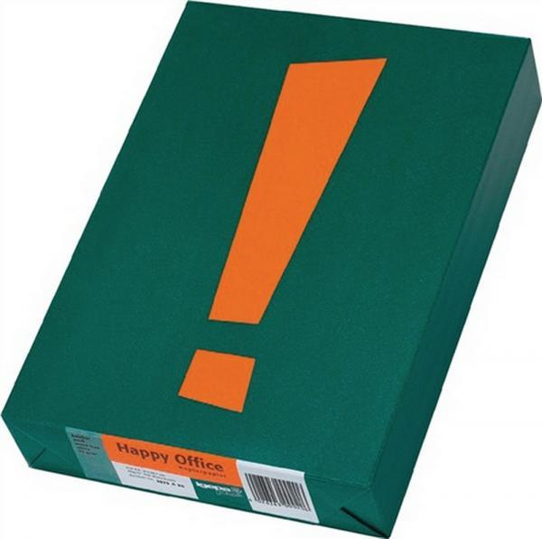 Kopierpapier DINA4 weiß holzfrei 80g/m2 chlorfrei, 2500 Blatt