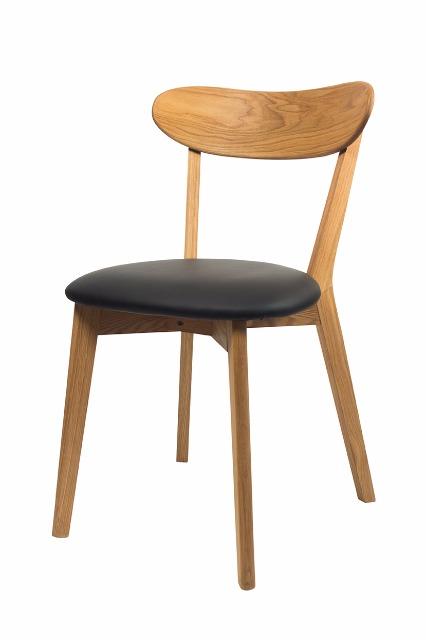 Moderner esszimmerstuhl eichestuhl holzstuhl aus massiver for Moderner esszimmerstuhl