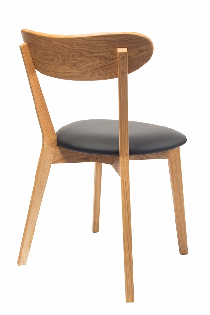 moderner esszimmerstuhl eichestuhl holzstuhl aus massiver. Black Bedroom Furniture Sets. Home Design Ideas