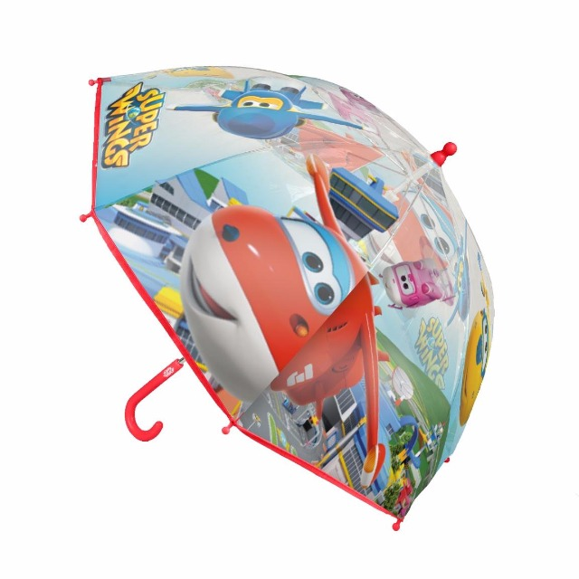 Regenschirm transparent Super Wings Ø90cm