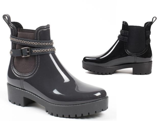 Damen Trend Chelsea Boots Stiefeletten Lack Reißverschluss Schuhe Schuh Shoes Freizeit Schuh
