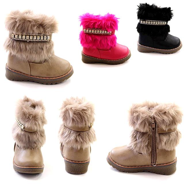 d603234b339cdb Kinder Herbst Winter Fell Stiefel Boots Gr. 20-25 je 6