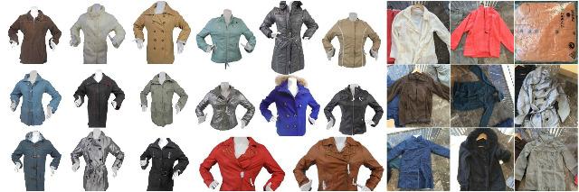 Textilien Damen Großhandel: Damen Jacken Herbst Winter Mix Palette