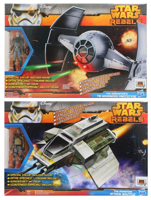 27-51748, HASBRO Star Wars Rebels Figure and Vehicle