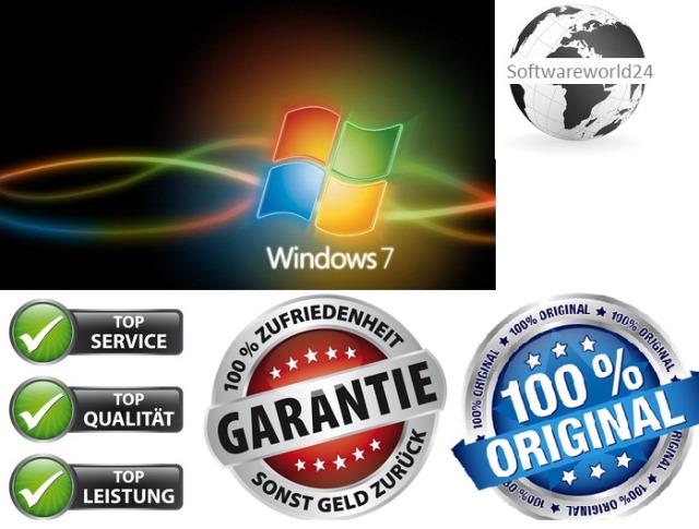 Windows 7 Professional Coa + DVD OEM
