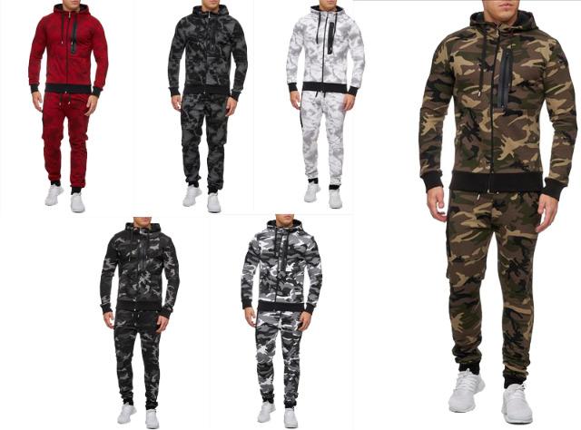 Herren Jogging Anzug Sportanzug Trainingsanzug Trainingsjacke Jogginganzug - 15,90 Euro