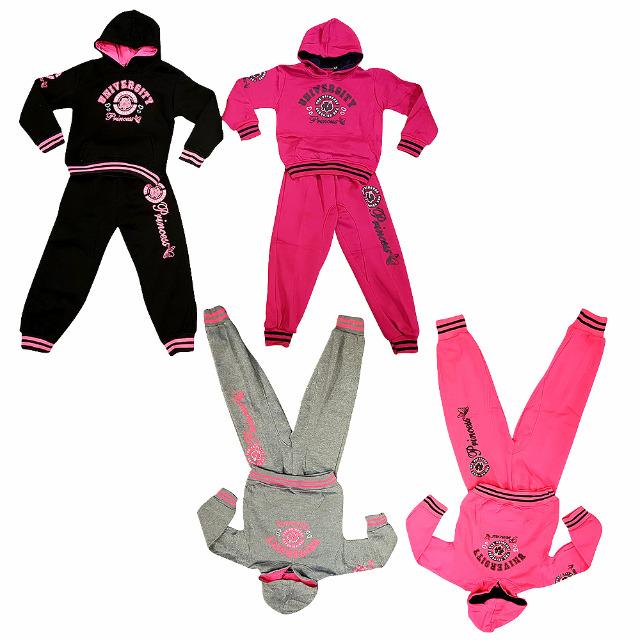 Kinder Mädchen Jogging Freizeit Sport Anzüge für 4-14 J. je 7,50 EUR