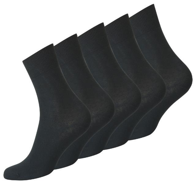 TOPSELLER - Herren Business Socken in schwarz