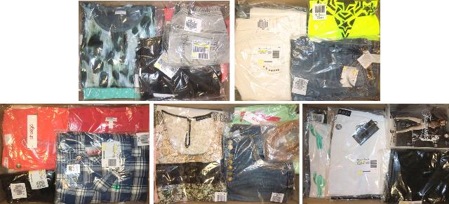 Damen Mix Kleidung Bluse, Jeans, Tunika, Top, Shirt...1 A Posten in OVP