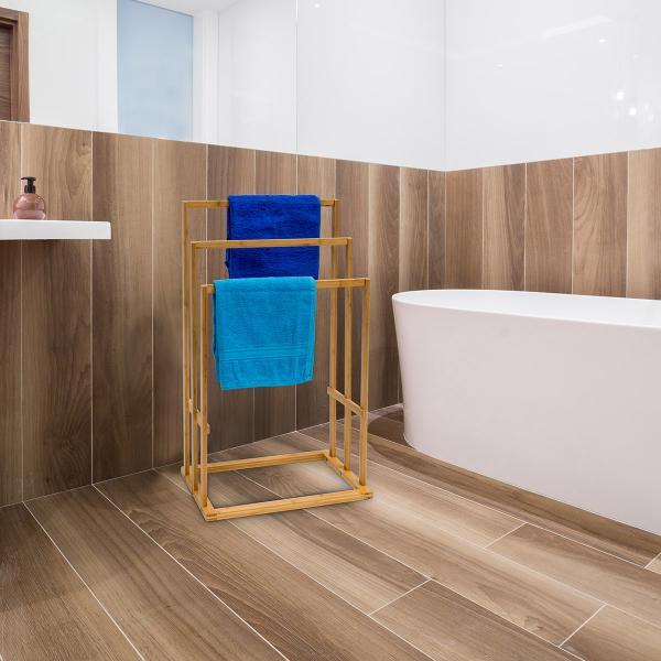bambus handtuchhalter 43x30x82cm 15106968. Black Bedroom Furniture Sets. Home Design Ideas