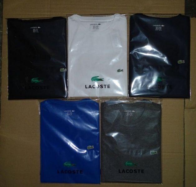 Textilien Herren Großhandel: Lacoste T-Shirts Poloshirt Großhandel Verkauf