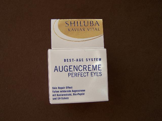 Shiluba Augencreme mit Kaviarextrakt!