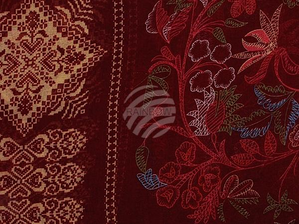 damen und herren schal design ornamente farbe rot. Black Bedroom Furniture Sets. Home Design Ideas