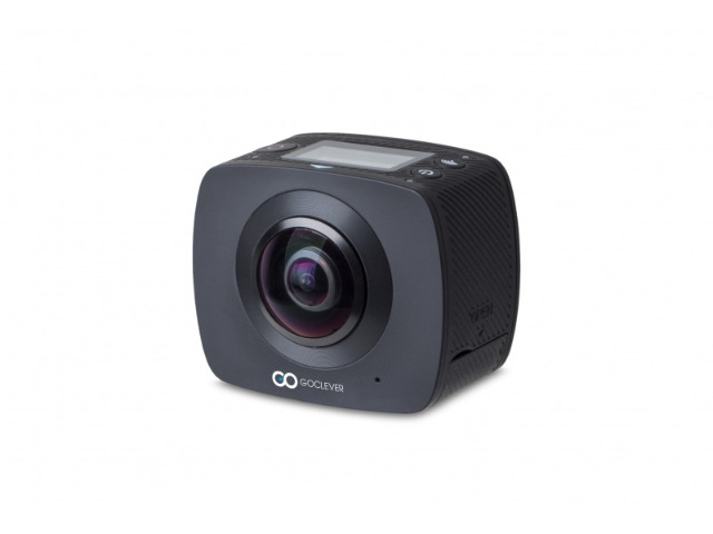 GoClever DVR EXTREME 360 Grad Action Cam/ Full HD Kamera/ Panorama/ VR Video/ Doppel- Linse / WI-FI