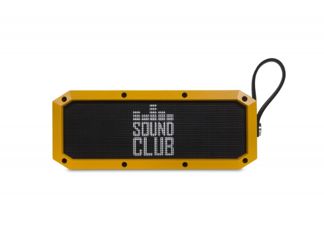 GoClever Sound Club Rugged Bluetooth Lautsprecher Rugged