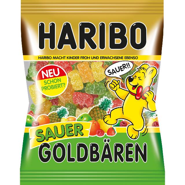 Lebensmittel & Getränke Großhandel: Haribo Goldbären Sauer 200g
