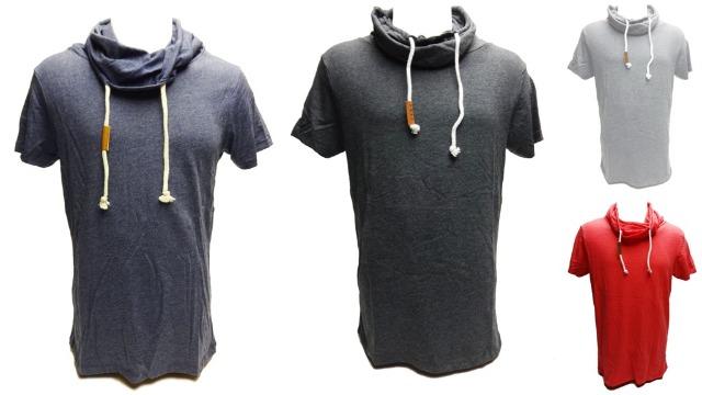 Verschiedene Farben Männer T-Shirts mit Rollkragen