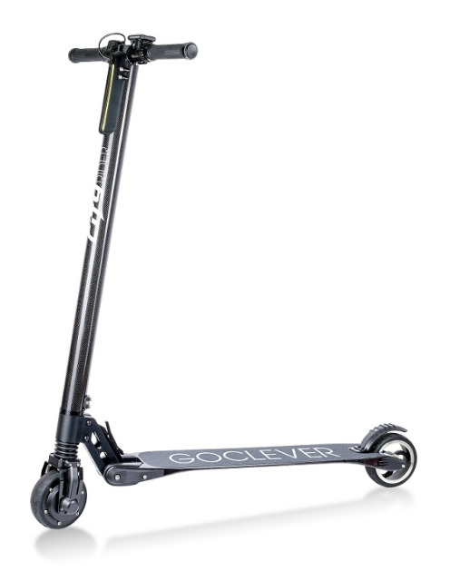 GoClever Carbon City Rider Roller Elektro Fahrzeug Scooter