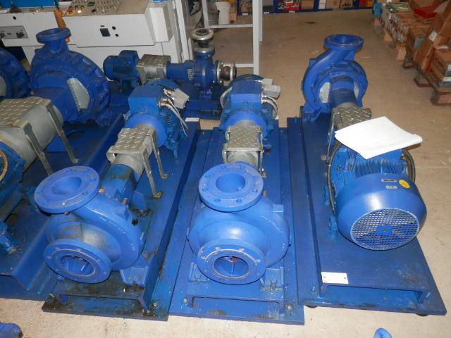KSB OEL UND WASSER PUMPEN - KSB OIL AND WATER PUMPS