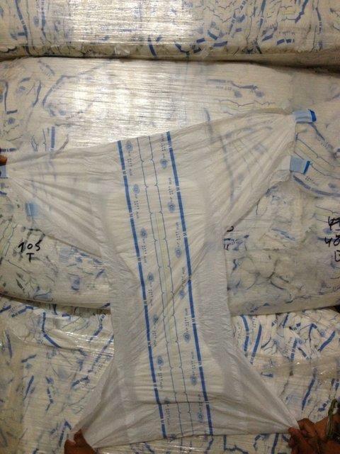 B Grade Adult Diapers Made in Belgium