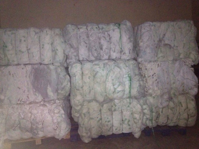 B Grade Baby Diapers in Bales Made in Germany